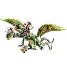 Playmobil DreamWorks Dragon Racing Ruffnut and Tuffnut with Barf and Belch