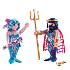 Playmobil King of the Sea and Mermaid Duo Pack