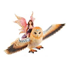 Schleich Fairy in Flight on Glam-Owl