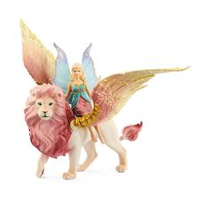 Schleich Fairy in Flight on Winged Lion