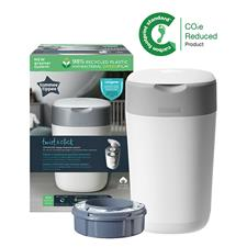 Tommee Tippee Twist & Click Nappy Disposal Tub White