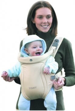 Tomy Classic Carrier Beige