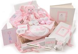 Ultimate Baby Girl Gift Basket