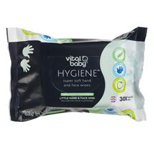 Vital Baby HYGIENE Super Soft Hand & Face Wipes Fruity Fragrance