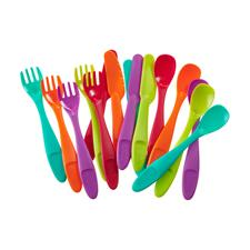 Vital Baby NOURISH Perfectly Simple Cutlery 15Pk