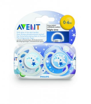 Philips Avent Silicone Soother Night