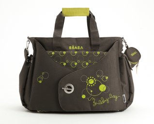 Beaba Sydney My Baby Bag Flowers Design Changing Bag