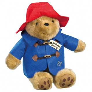 Large Cuddly Paddington Bear 30cm