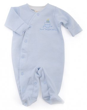 Tiny Me Crossover Little Boats Sleepsuit