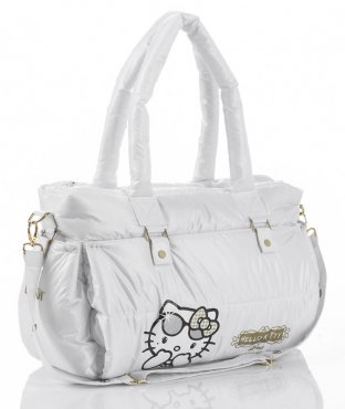 Hello Kitty Diva Fashion Changing Bag Gold White