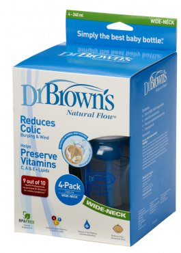 Dr. Brown's 240ml Four Bottle