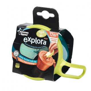 Tommee Tippee Explora Snack and Go Pot - 2 Colours