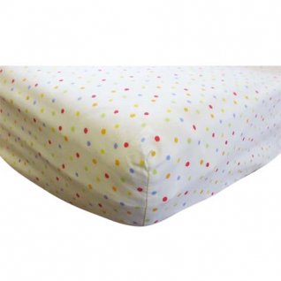 Jolly Jamboree Cot Fitted Sheet (120cm by 60cm)
