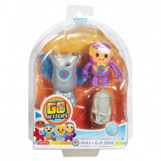 Go Jetters Character Assortment Click-On
