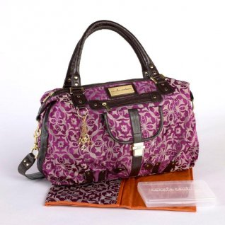Kids Line Cocalo Hobo Purple Change Bag