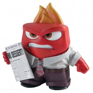 "Inside Out 10"" Feature Figure - Fear, Disgust, Anger"