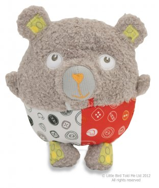 Little Bird Told Me Baby Bear Hug Toy