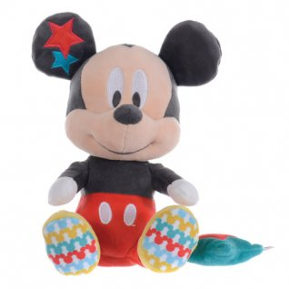Mickey & Minnie Mouse Overlap Collection Musical Plush