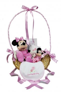 Magical Minnie Mouse 0-3months Gift Basket