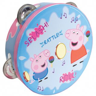 Access All Areas Peppa Pig Splish Splash Tambourine