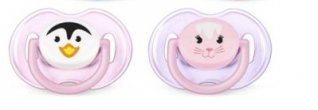 Philips Avent Animals Soother Twin Pack