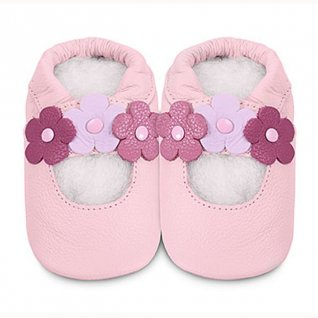 Shoo Shoos Pink 3 Flower (2 sizes)