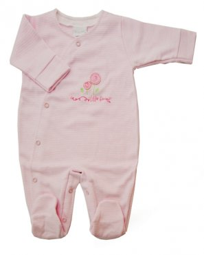 Crossover Flowers Sleepsuit