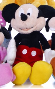 "Mickey Mouse Clubhouse Friends 8"" Soft Toy Assorted"