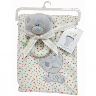 Tiny Tatty Teddy Blanket and Toy Set