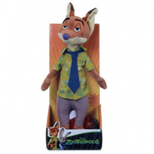 "Disney Zootropolis Nick Wilde 10"" Soft Toy"